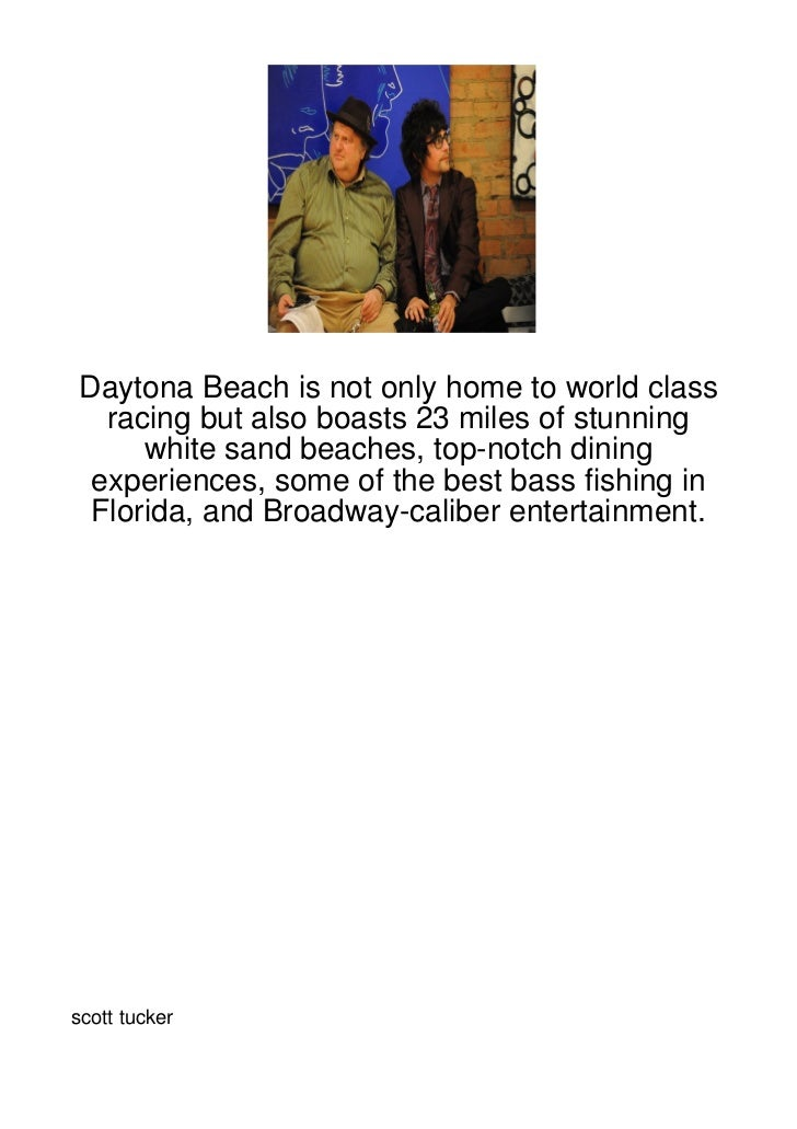 Daytona Beach is not only home to world class  racing but also boasts 23 miles of stunning     white sand beaches, top-not...