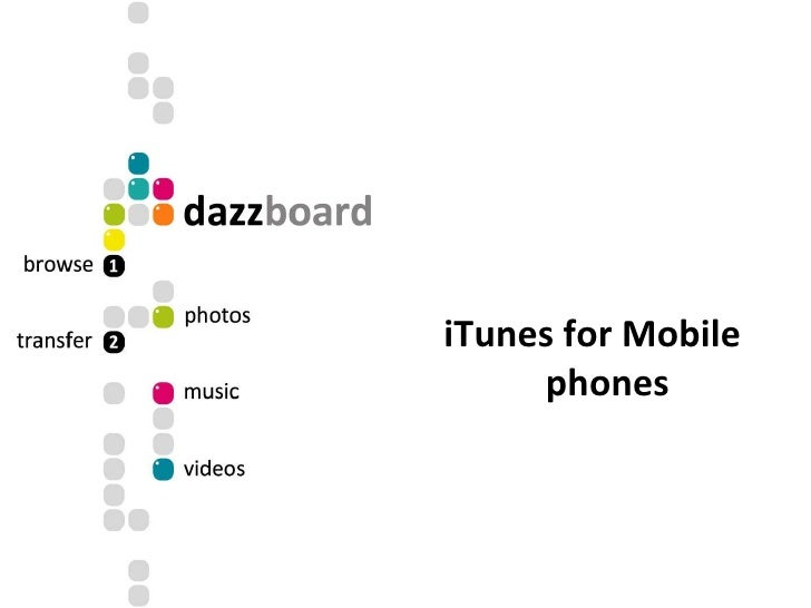 iTunes for Mobile phones
