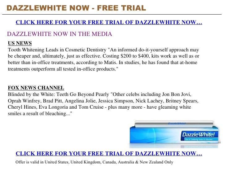 Dazzlewhite now free trial 2 solutioingenieria Choice Image