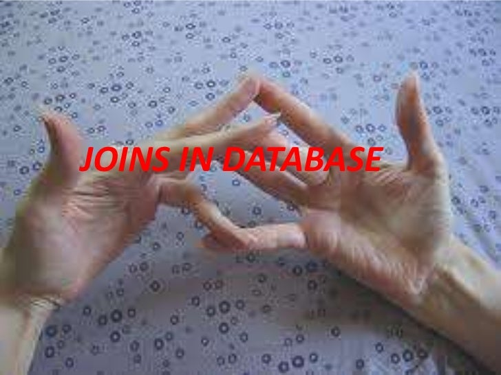 JOINS IN DATABASE
