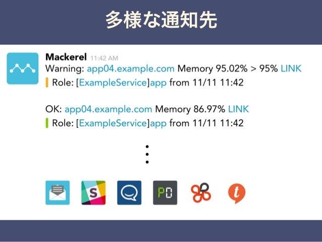 Mackerelのデータストア