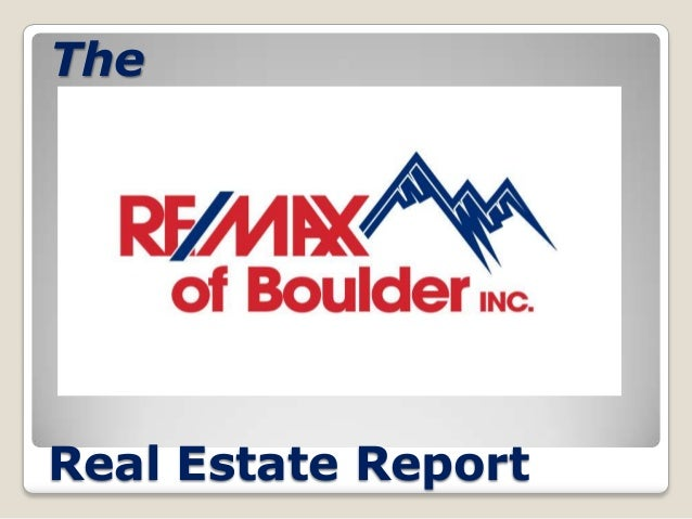 The  Real Estate Report