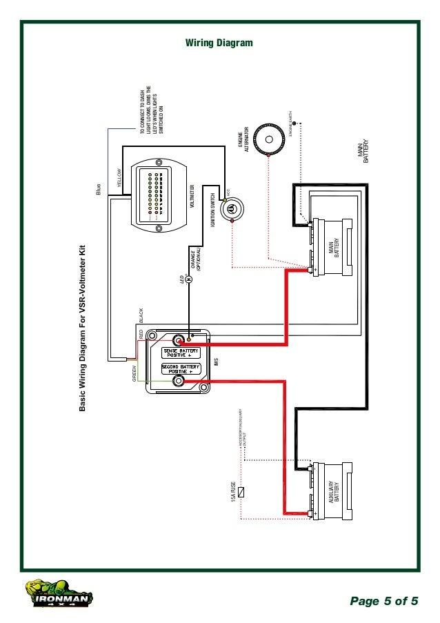 ironman 4x4 140amp dual battery kit 1224 volt 5 638?cb\=1460043850 4x4 dual battery wiring diagram 24 diy enthusiasts wiring diagrams \u2022