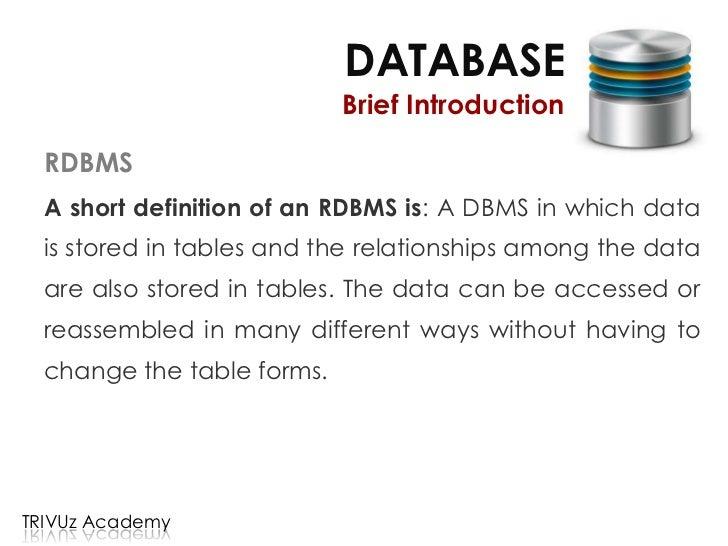 Database - Design & Implementation - 1