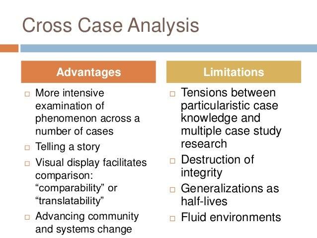cross case analysis example