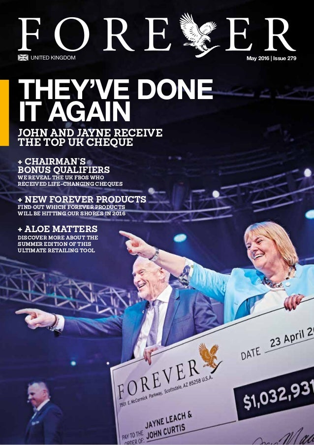 May 2016 | Issue 279 + CHAIRMAN'S  BONUS QUALIFIERS WE REVEAL THE UK FBOS WHO  RECEIVED LIFE-CHANGING CHEQUES + NEW F...