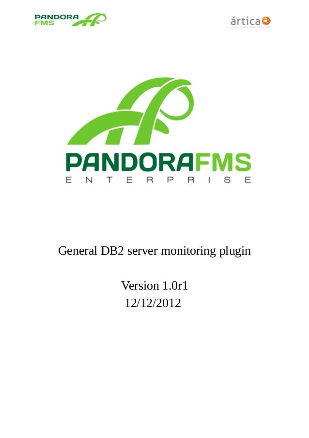 General DB2 server monitoring plugin Version 1.0r1 12/12/2012