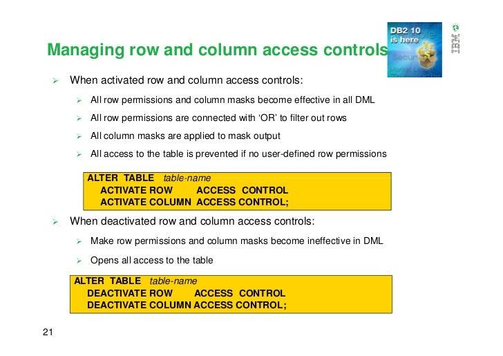 DB2 10 Security Enhancements