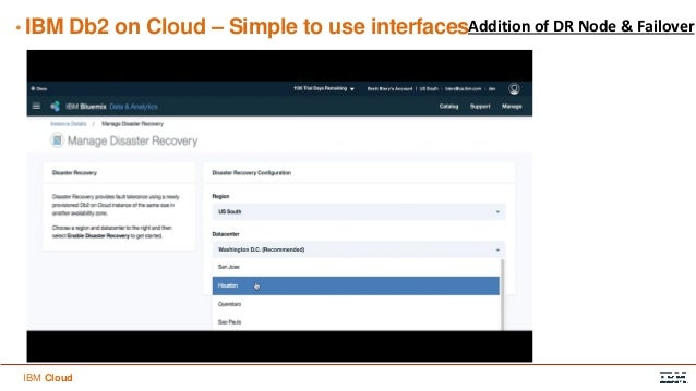 Db2 on cloud overview