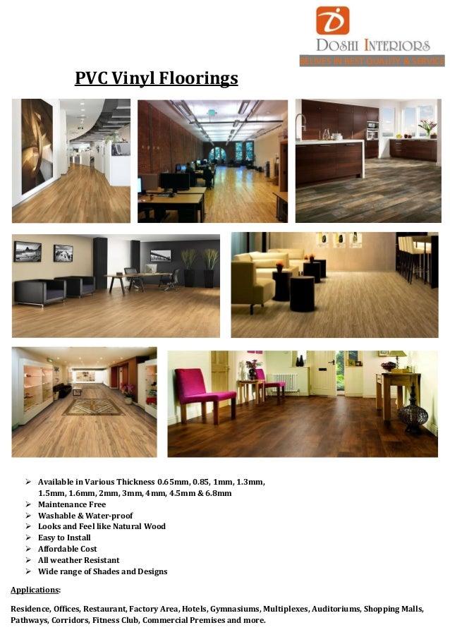 PVC Vinyl Flooring Laminates Wood Flooring - Vinyl floorings