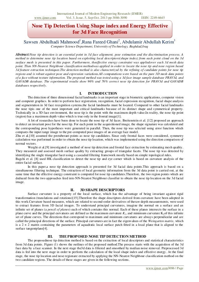 www.ijmer.com  International Journal of Modern Engineering Research (IJMER) Vol. 3, Issue. 5, Sep-Oct. 2013 pp-3086-3090 I...