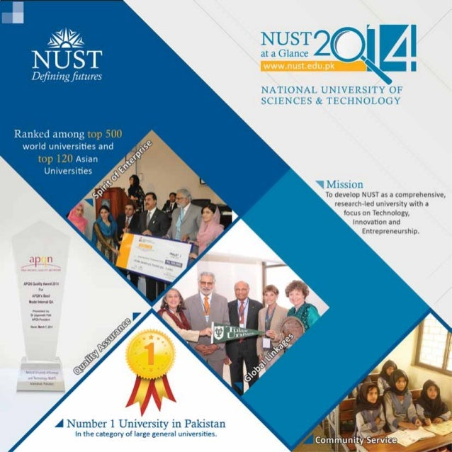 NUST at a Glance (2014)