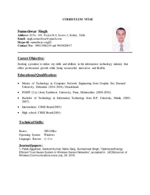 sumeshwar resume