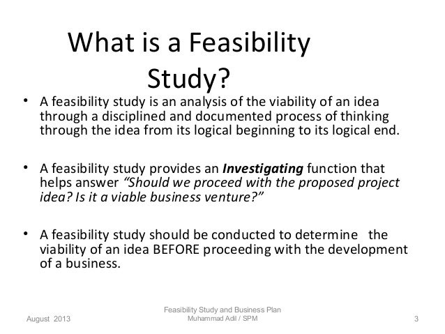 Do You Need a Business Plan or Feasibility Study - YouTube