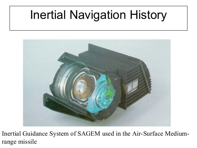 Introduction to Navigation Systems
