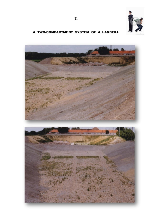 7. A TWO-COMPARTMENT SYSTEM OF A LANDFILL