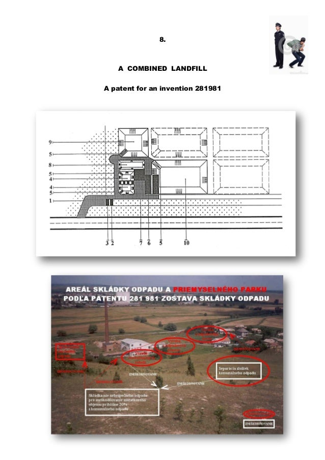 8. A COMBINED LANDFILL A patent for an invention 281981