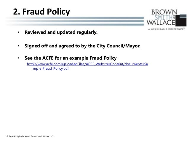 7 Keys To Fraud Prevention