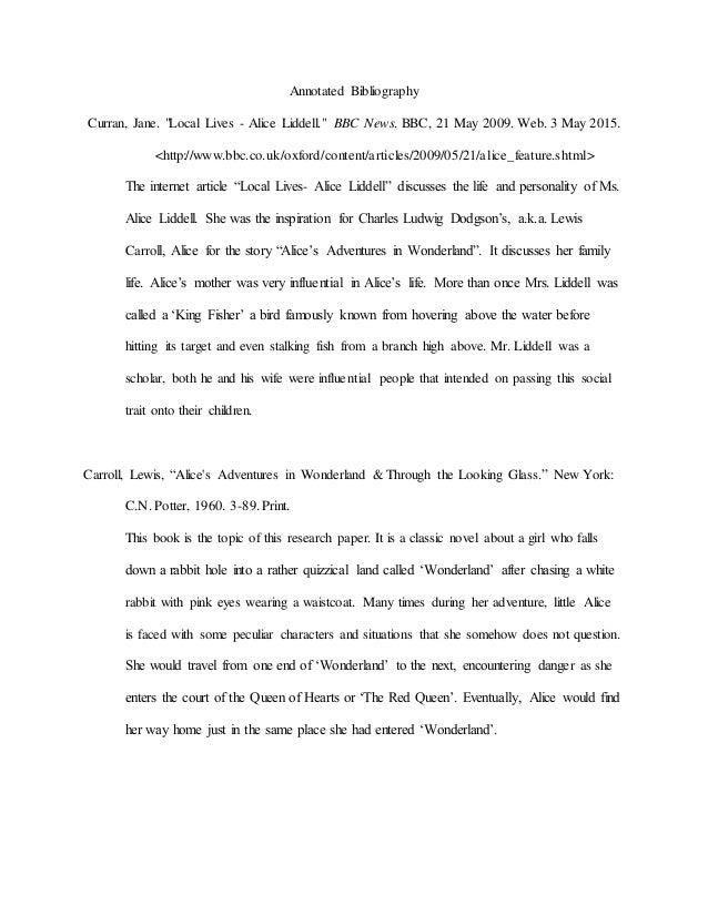 alice in wonderland critical essays