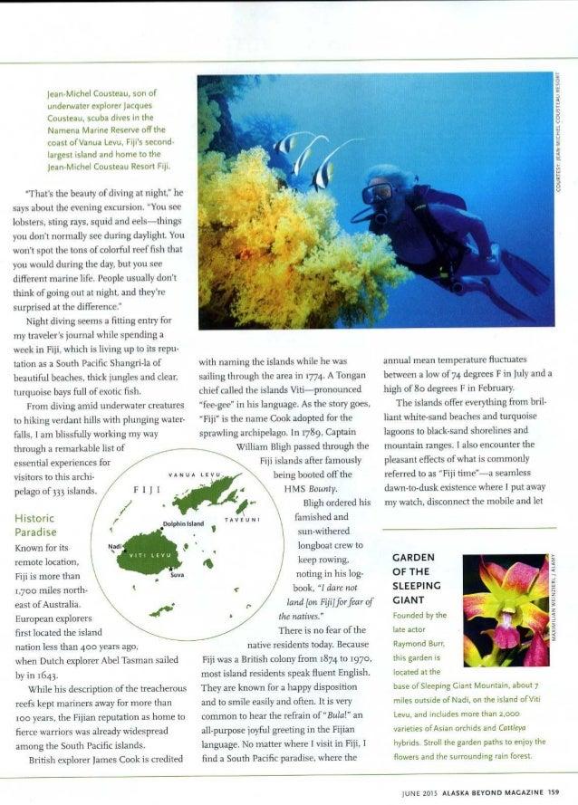 Alaska Airlines Magazine Fiji