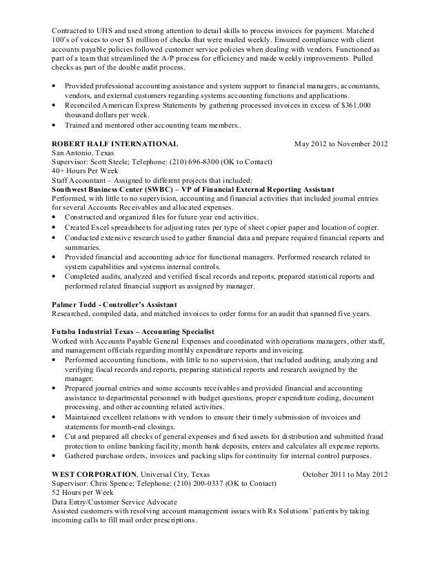 ssealey federal resume