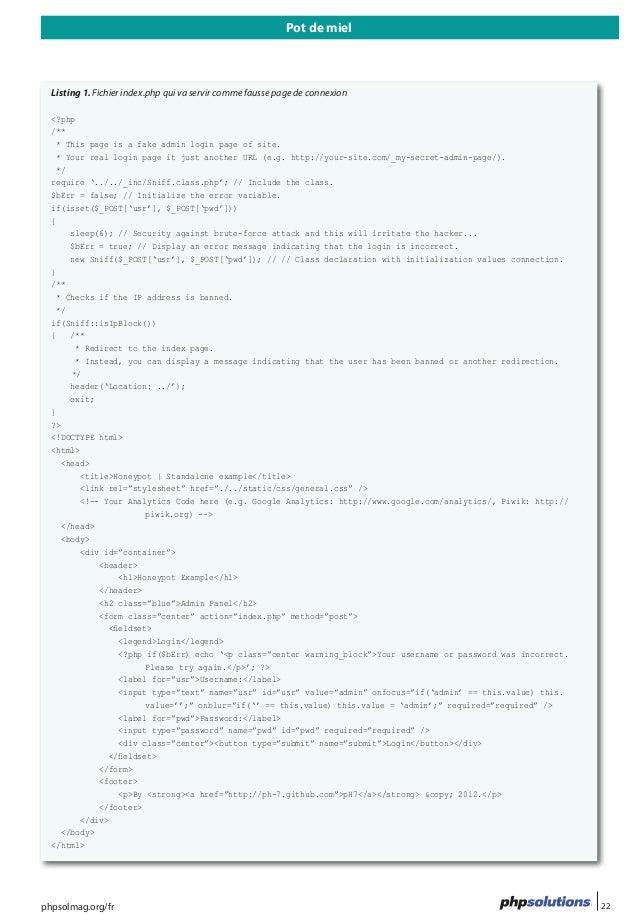 Pots de Miel, Honeypot informatique - Sécurité informatique Slide 2