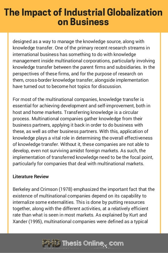 knowledge management thesis proposal