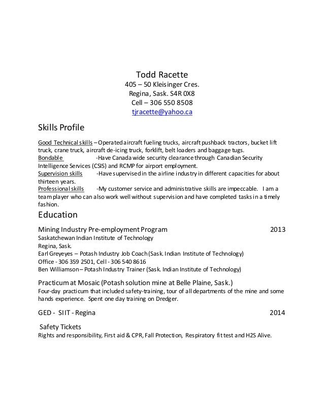 what to put on a resume what can i put for skills on