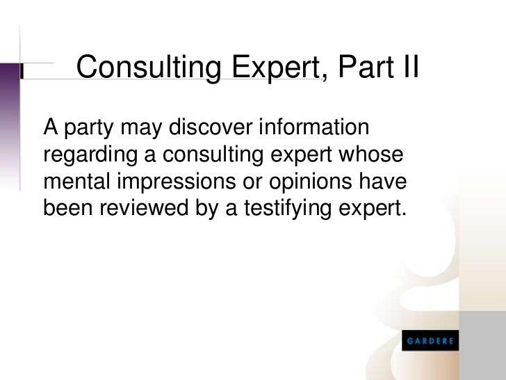 Attorney Client Privilege Testifying Expert
