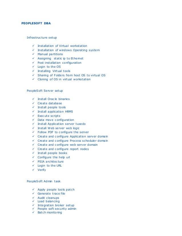 peoplesoft dba online training rh slideshare net peoplesoft training manual peoplesoft nvision training manual