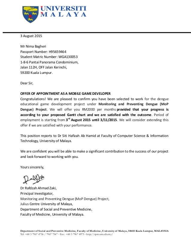Offer letter Nima2