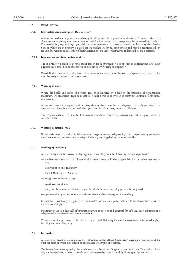 new machinery directive 2006 42 ec rh slideshare net Darius GOES West Lesson Plans Darius GOES West Wheelchair