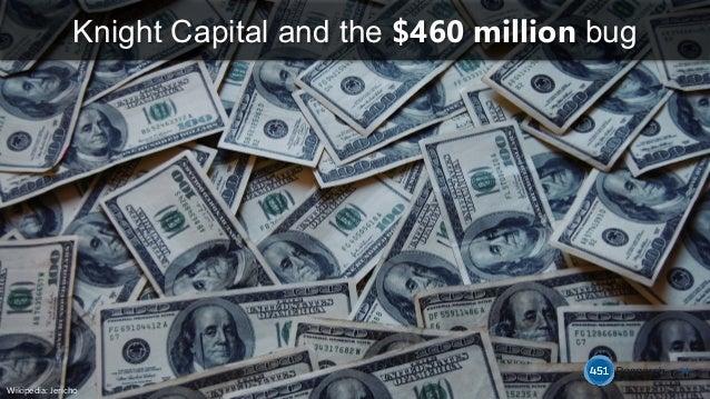 Knight Capital and the $460 million bug 14 Wikipedia: Jericho