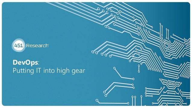 DevOps: Putting IT into high gear 8