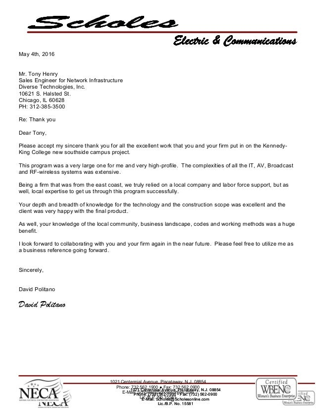 Diverse Referral Letter for The Kennedy King College Project 05042016