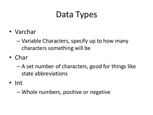 CVJ531: Intro to MySQL Slide 3