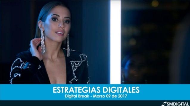 DIGITAL BREAK // MARZO 09 DE 2017