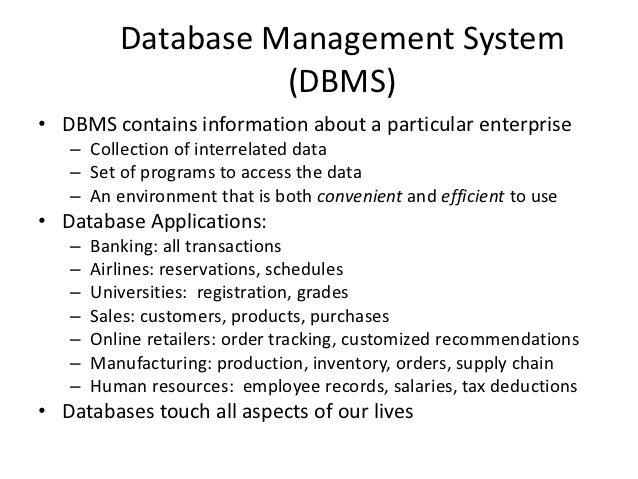 Dbms Class 1 Amp 2 Presentation