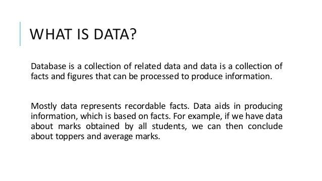 Database Management System Slide 2
