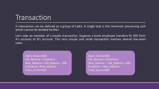 Transaction Processing Concept Slide 2