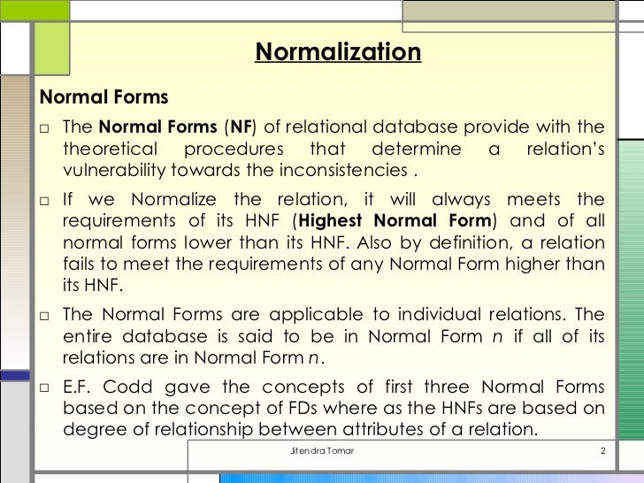 how to do normalization in dbms Denormalization definition - denormalization is a strategy that database managers use to increase the performance of a database infrastructure it.