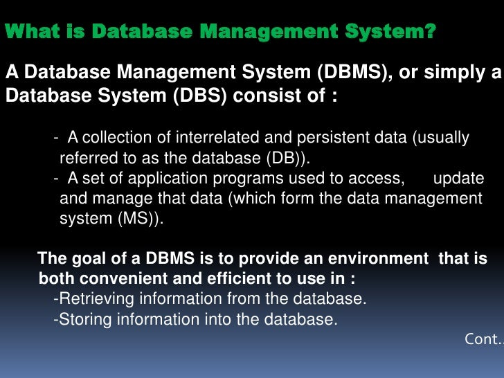 describing storing data from dbms Advantages of a dbms | describing & storing data in a dbms | queries in dbms by edupedia world 18:46 play next play now.