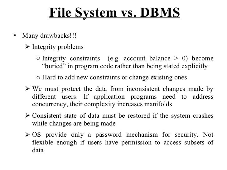 difference between dbms rdbms pdf free