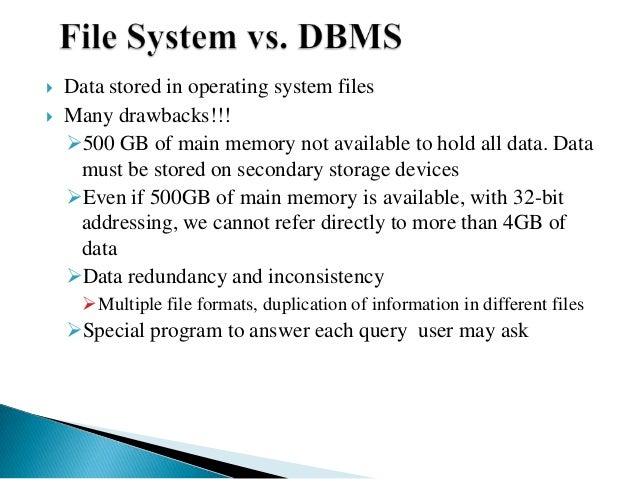Dbms And Its Models