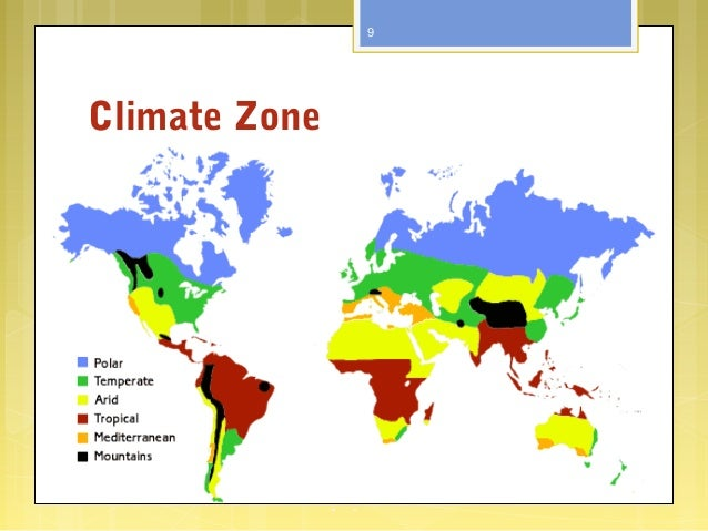 Climate Zone 9