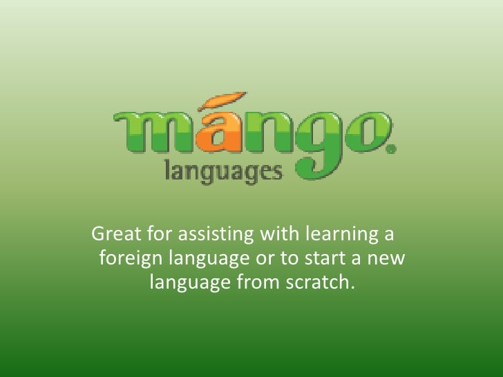 Great for assisting with learning a foreign language or to start a new       language from scratch.