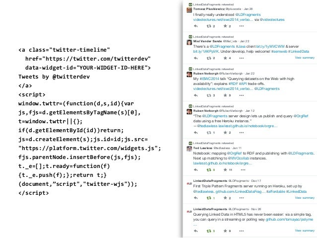 DBpedia's Triple Pattern Fragments Slide 3