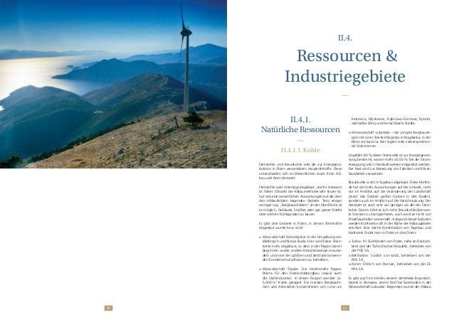 5150 II.4. Ressourcen & Industriegebiete II.4.1. Natürliche Ressourcen II.4.1.1. Kohle Steinkohle und Braunkohle sind die ...