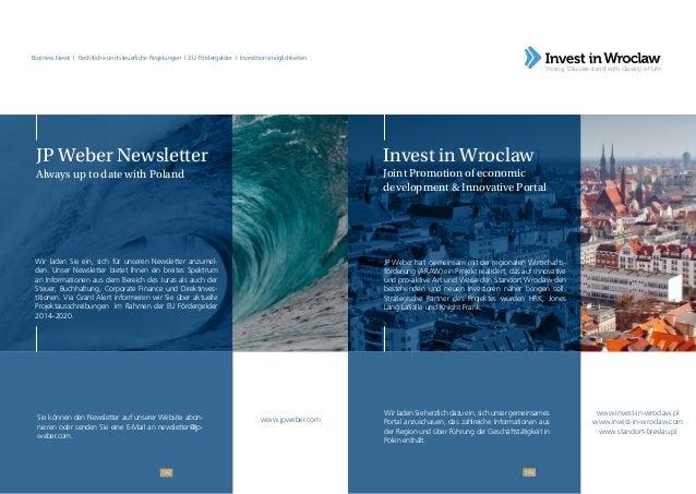 Ratgeber für Investoren - Doing Business in Poland