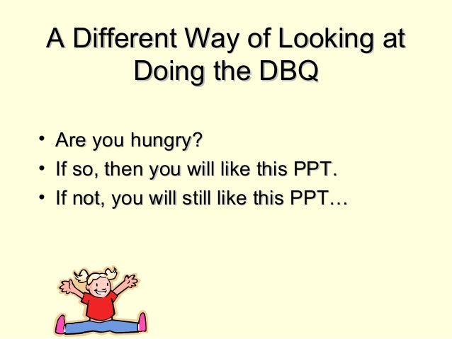 APUSH Review: DBQ Writing Tips PowerPoint Presentation, PPT - DocSlides